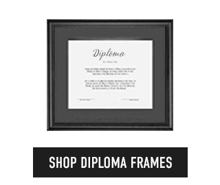 Picture of diploma. Click to shop Diploma Frames.